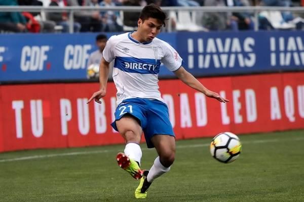 Raimundo Rebolledo vuelve a la titularidad en la UC después de tres partidos seguidos como suplente / Foto: Photosport