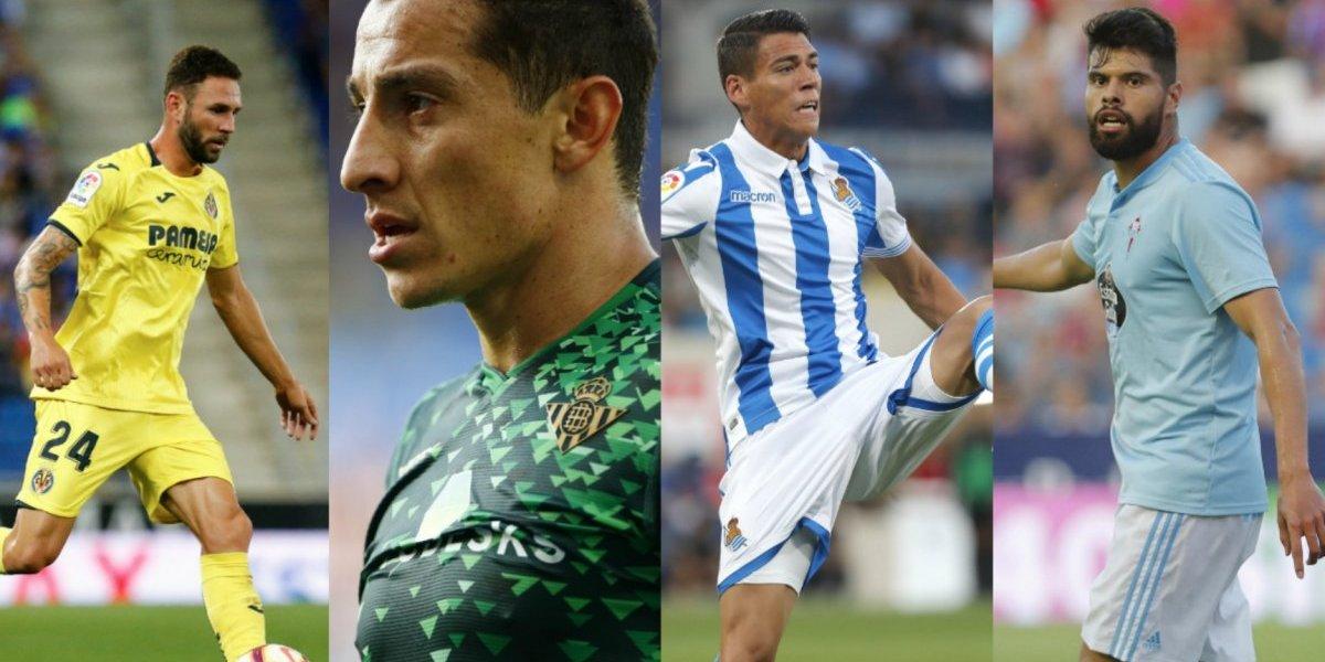 La Liga tendrá duelos de mexicanos: Layún vs Guardado y Moreno vs Araujo