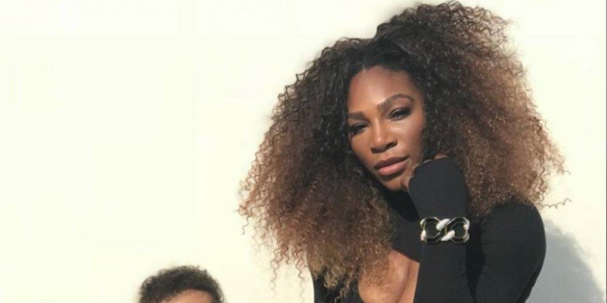 La foto de Serena Williams con su hija, que enloquece las redes