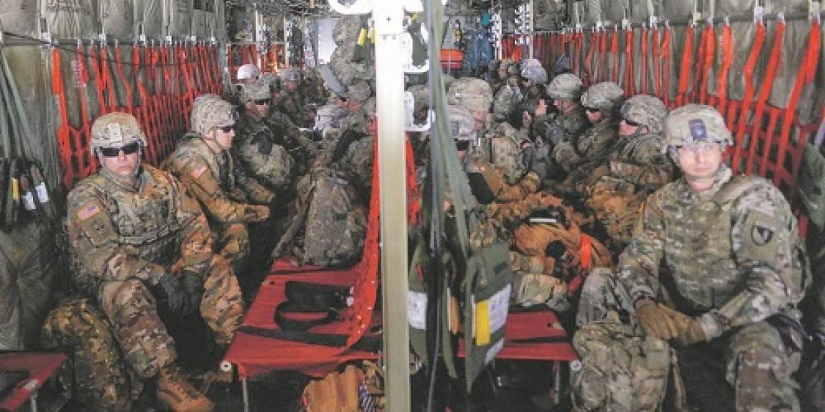 Trump radicaliza a soldados en frontera