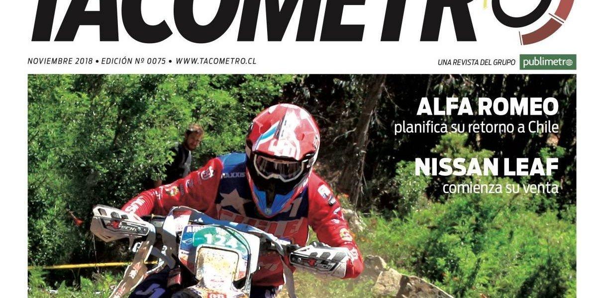 La revista Tacómetro de noviembre trae cepa de campeón