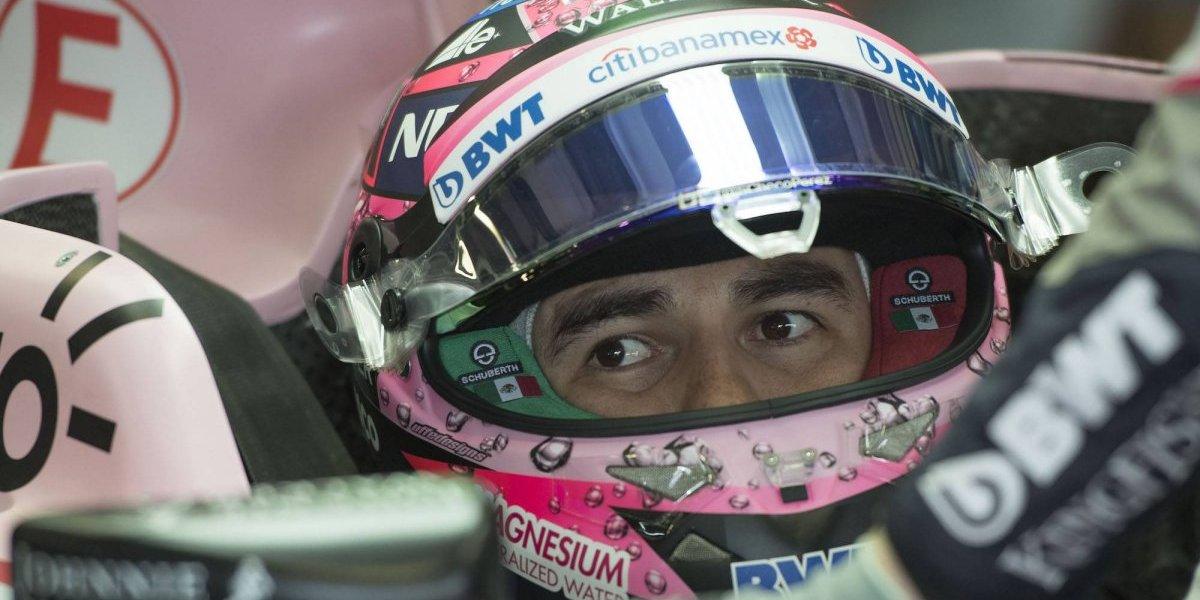 'Checo' Pérez, insatisfecho en sus prácticas previo al GP de Abu Dabi