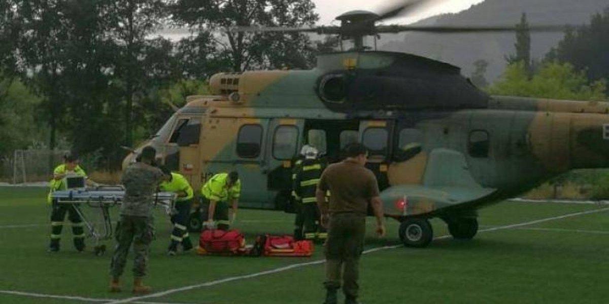Hallan sin sobrevivientes helicóptero desaparecido ayer