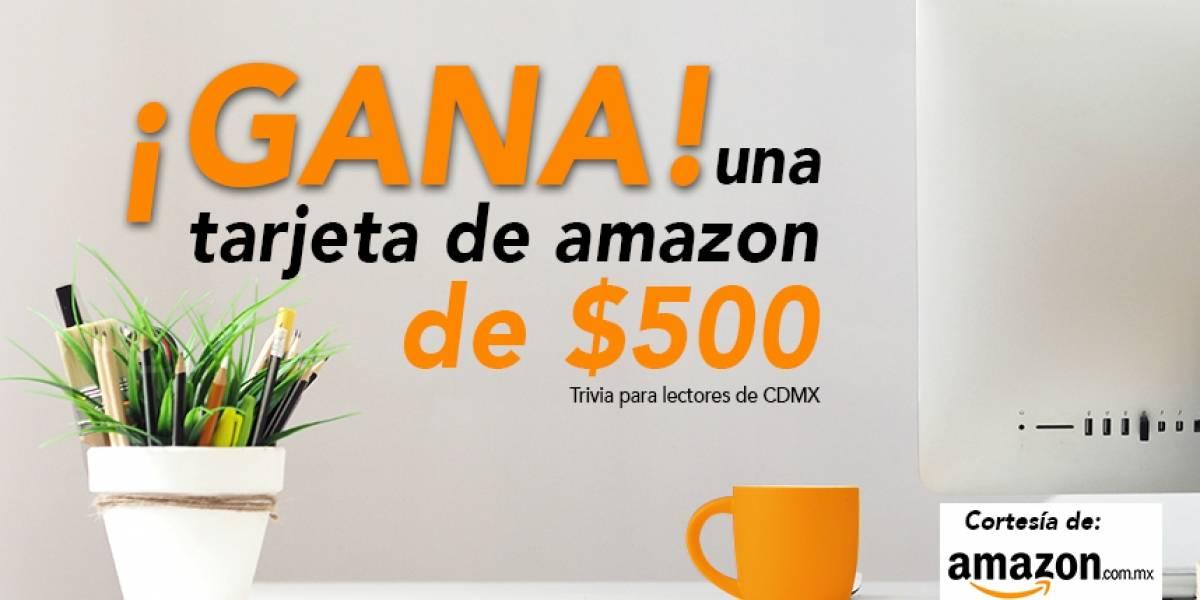 ¡Gana! tarjeta de Amazon