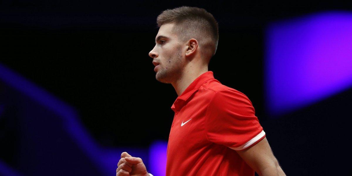 Coric barre con Chardy y le da ventaja a Croacia en la final de Copa Davis ante Francia