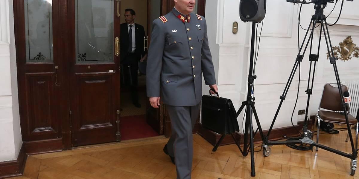 """General Martínez confirma que venta de armas a narcos fue denunciada en octubre: """"Están siendo investigados cinco suboficiales"""""""
