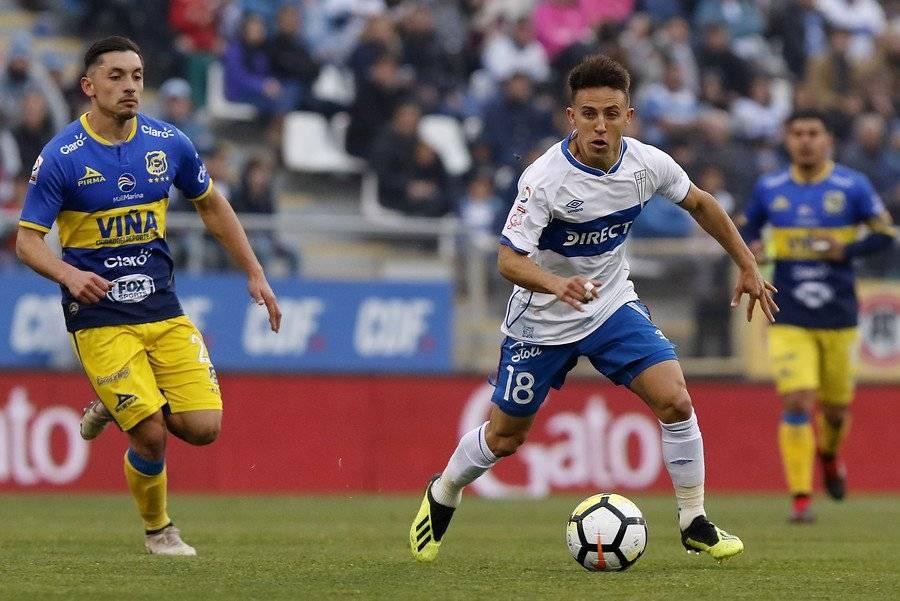 Diego Buonanotte fue el jugador distinto en la campaña 2018 de la UC / Foto: Agencia UNO