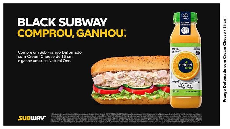 Subway Black Friday