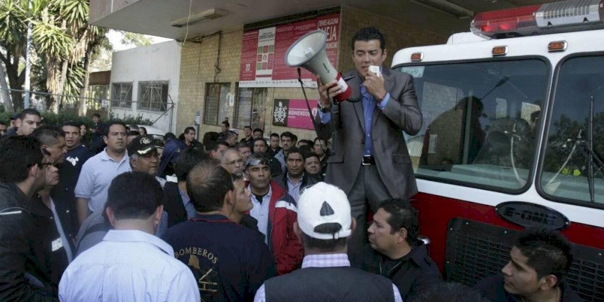 ¿Quién es Ismael Figueroa, líder del Sindicato de Bomberos de la CDMX?