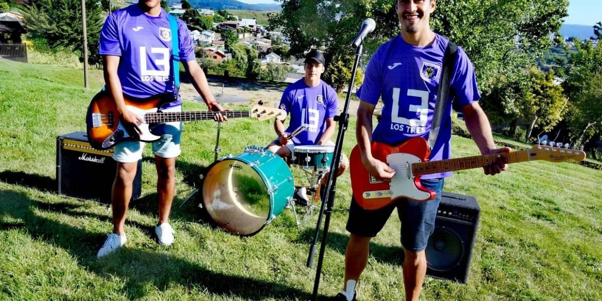 Los Tres afianzan su lazo con Deportes Concepción y se transforman en el nuevo sponsor lila