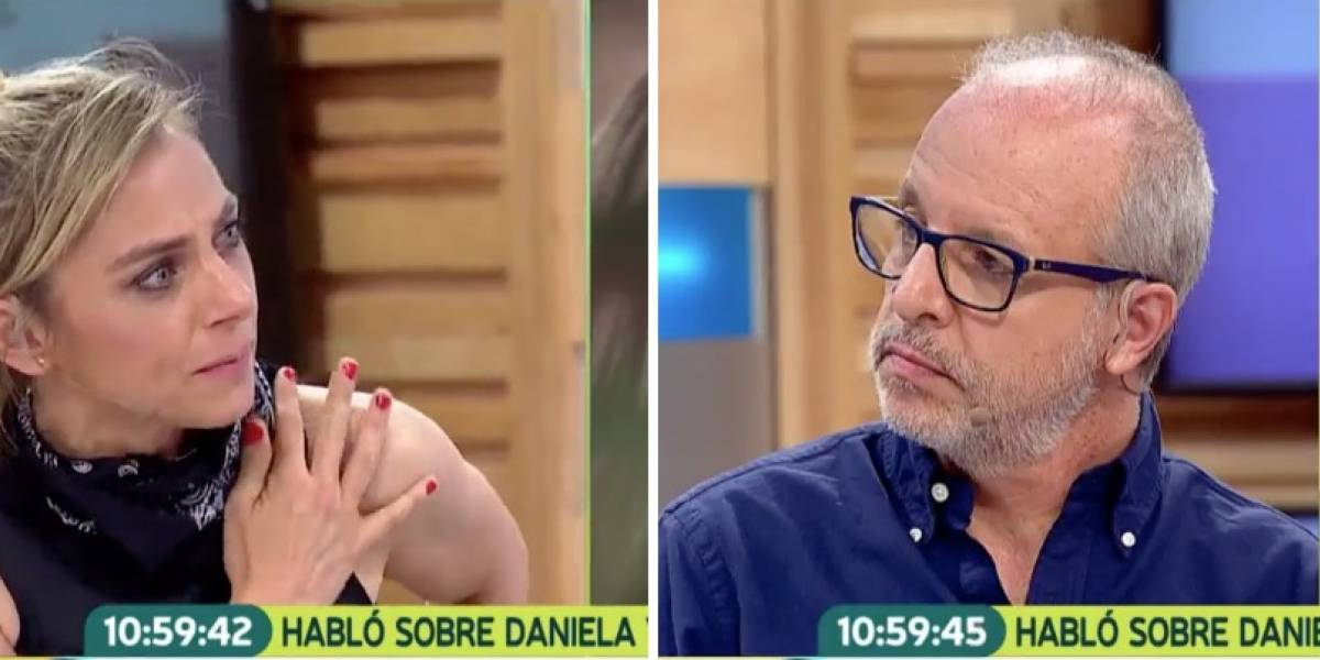 """""""¿Te desespera que no piense como tú?"""": La fuerte discusión entre Alberto Plaza y Mariana Derderian"""