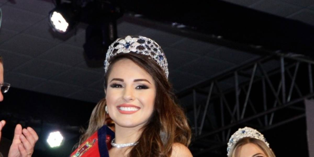 Así era Daniela Almeida Puyol antes de ser coronada Reina de Quito 2018-2019