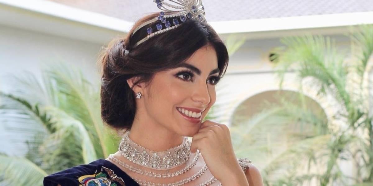 Las imágenes de Virginia Limongi con Ángela Ponce en Miss Universo