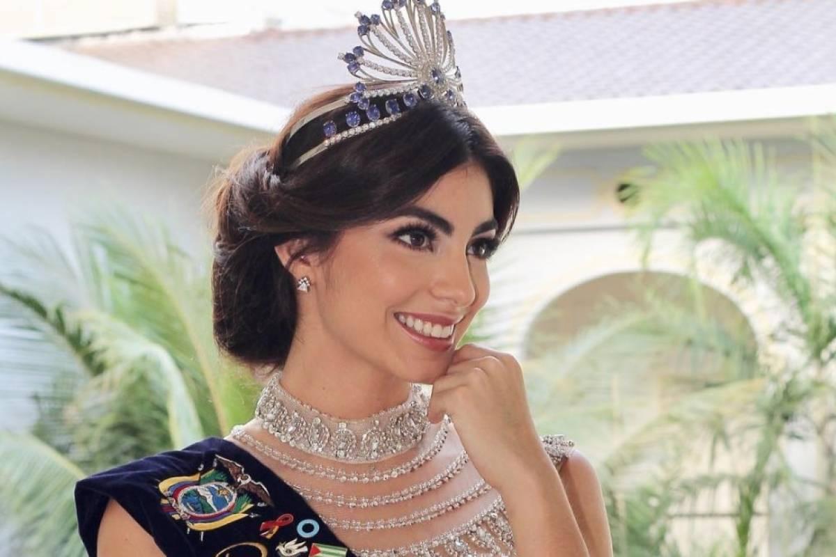 561cfb563 Miss Universo  El vestido que iba a usar Virginia Limongi si pasaba a las 10  finalistas