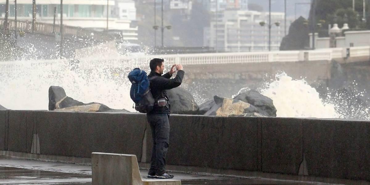4 metros de altura tendrán las olas en Valparaíso este fin de semana alertaron autoridades marítimas