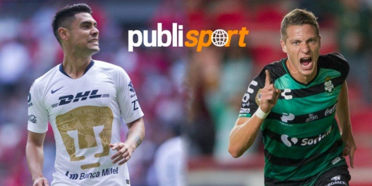 Pumas vs. Santos ¿Dónde y a qué hora ver el partido?