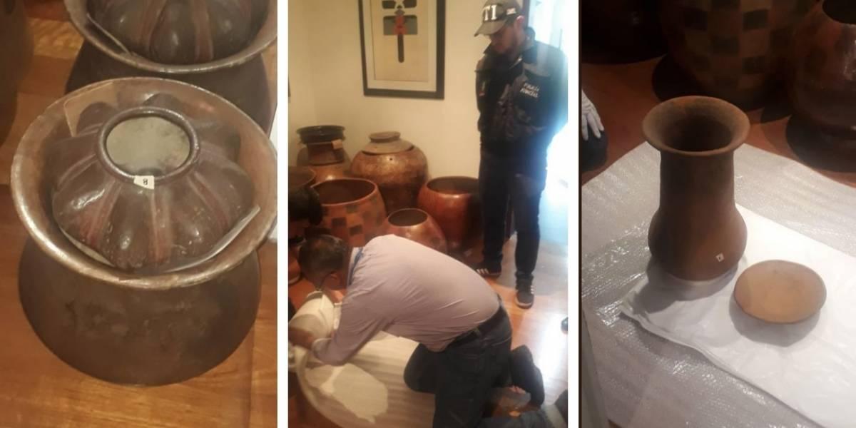 Las increíbles piezas precolombinas que rescató el Gobierno