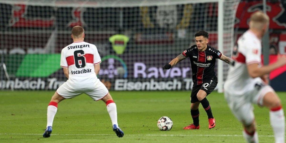 Bayer Leverkusen se levanta en la Bundesliga con Charles Aránguiz como protagonista