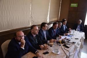 conferencia del CACIF sobre temas de justicia