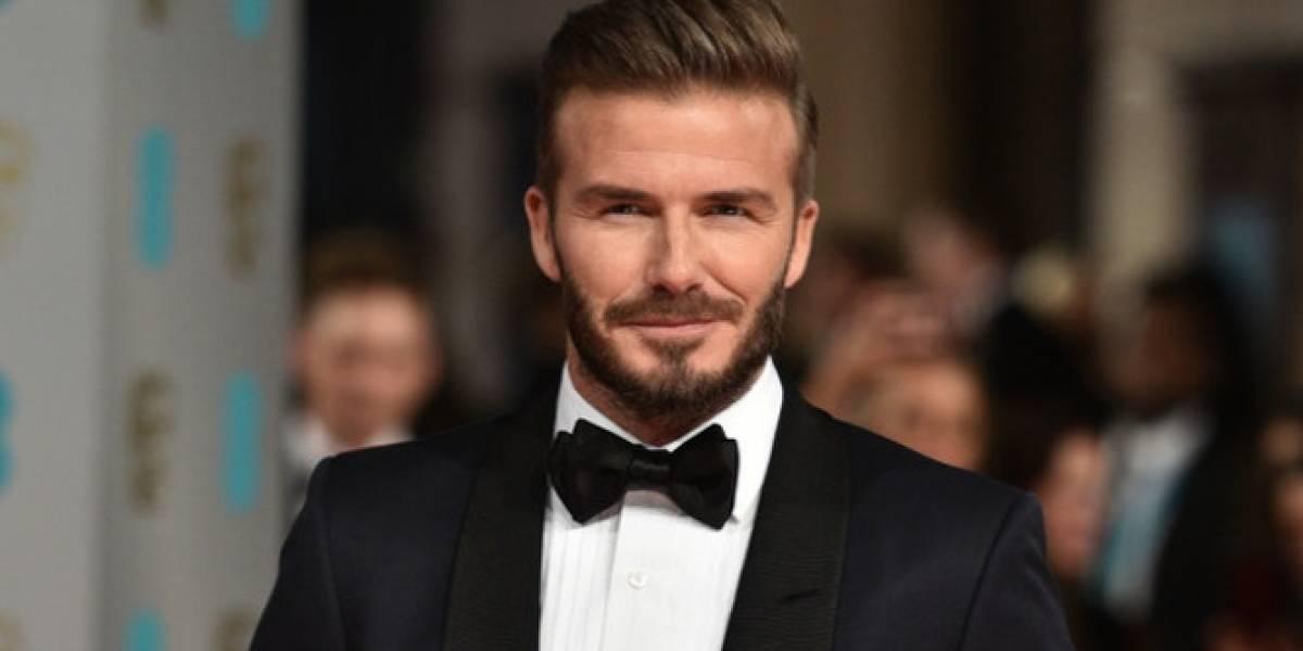 ¡Como el buen vino! David Beckham a sus 43 años luce cada vez más atractivo