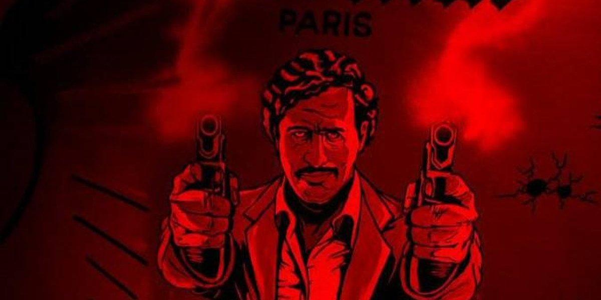"""Se bebe, se come, se baila, se mata"": el controvertido bar que rinde homenaje a Pablo Escobar en París"