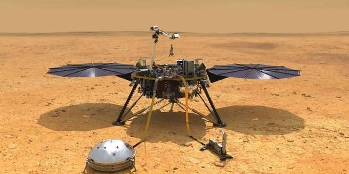 La NASA en la cuenta regresiva para el aterrizaje de un sismómetro en Marte