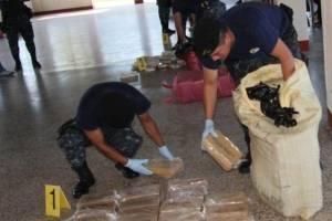 Incautación de cocaína en lancha Katerin
