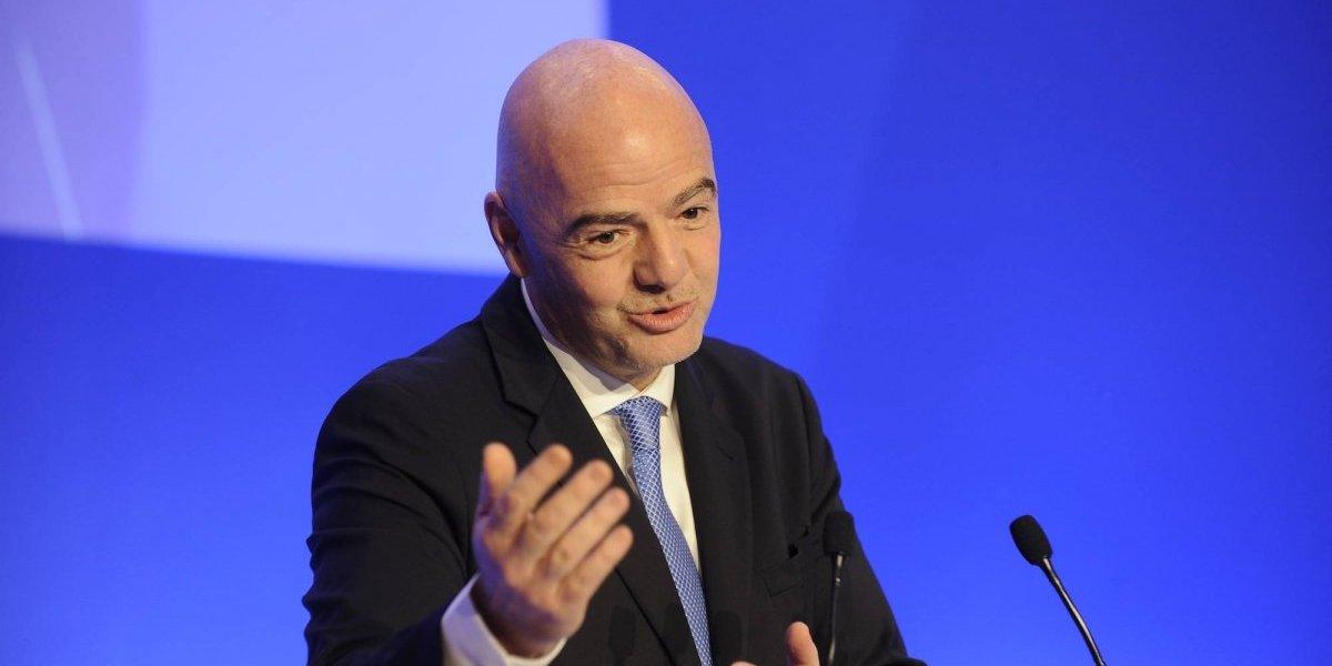 Conmebol apoya la reelección de Gianni Infantino