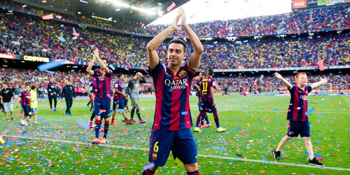 Xavi le dice 'adiós' al futbol