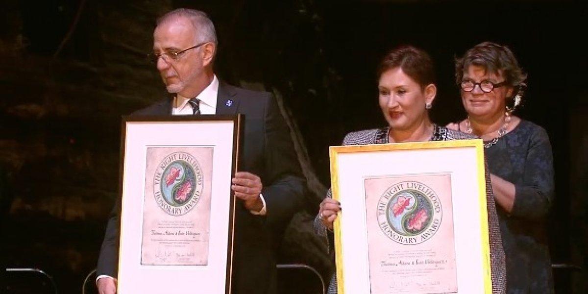 """Iván Velásquez tras recibir Nobel Alternativo """"Florecerás Guatemala"""""""