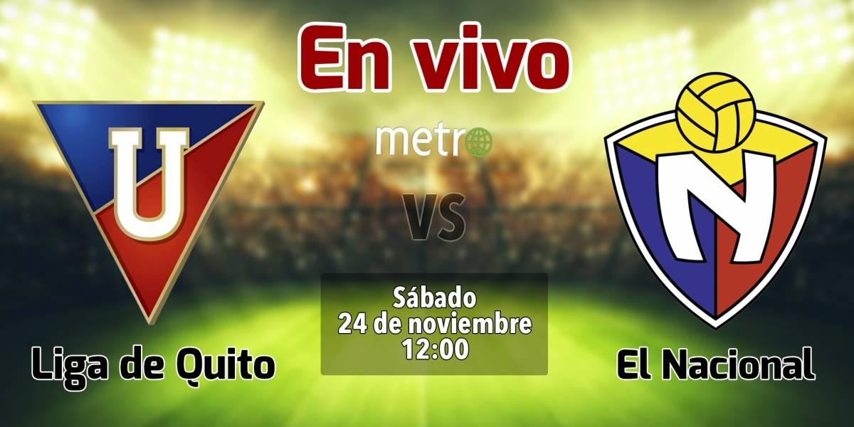 Técnico Universitario vs Liga de Quito: EN VIVO, dónde ver el partido, canales de transmisión y alineaciones