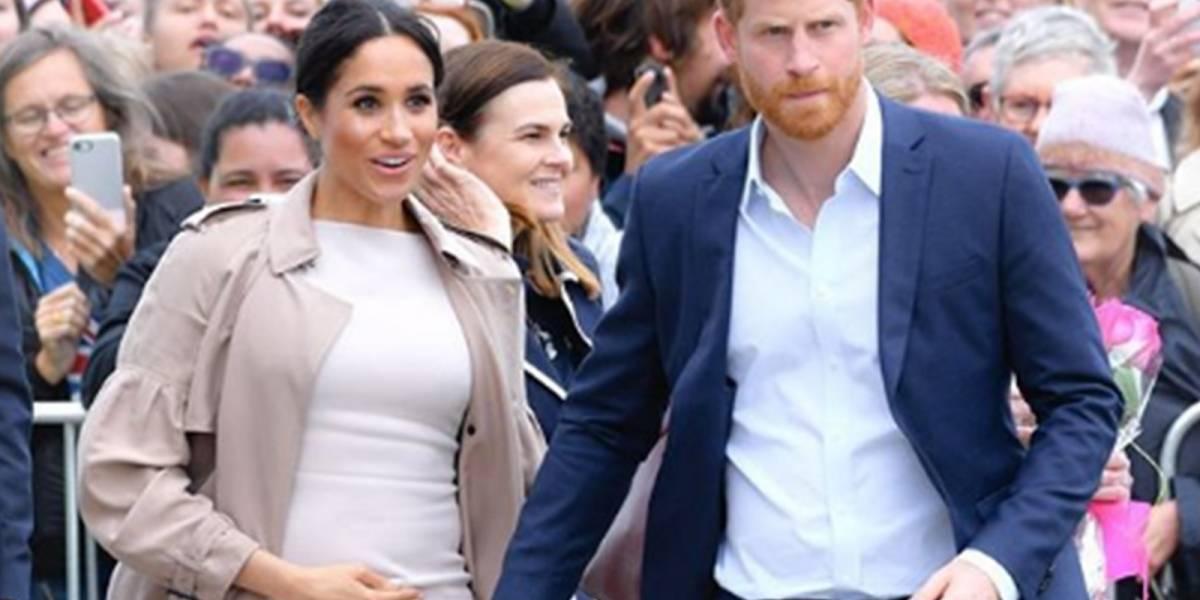 El príncipe Carlos reveló los nombres que Meghan y Harry están considerando para su bebé