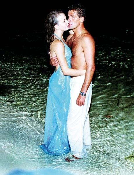 Michelle Vieth y Héctor Soberón