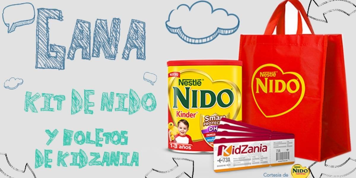 ¡Gana! kit de Nido y boletos para kidzania