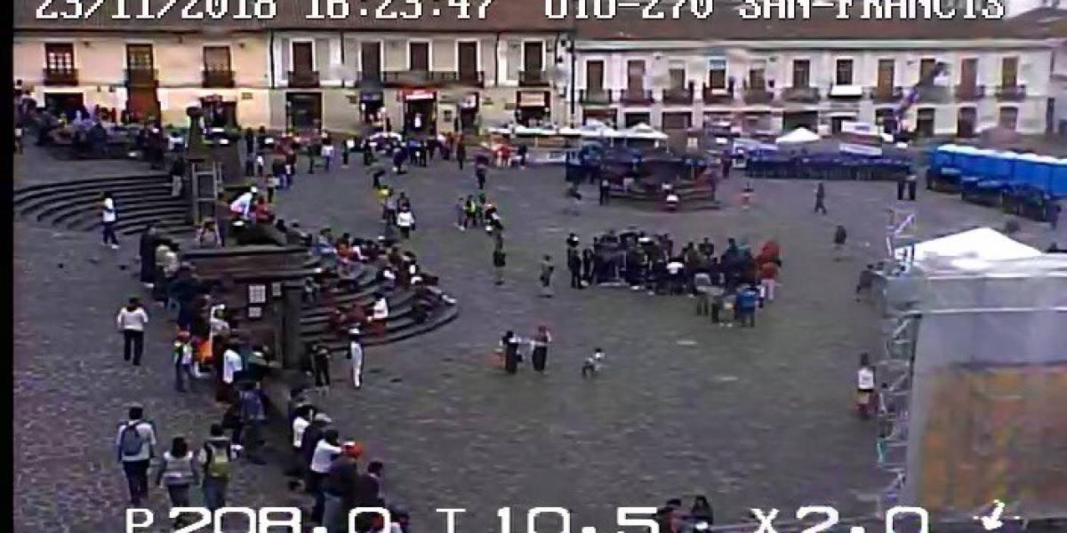 Fiestas de Quito: Estas son las vías cerradas por el pregón de San Francisco
