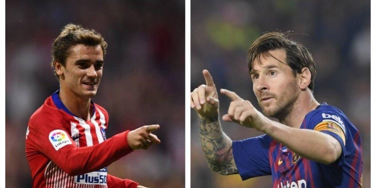 Griezmann y Messi se reencuentran después del Mundial de Rusia