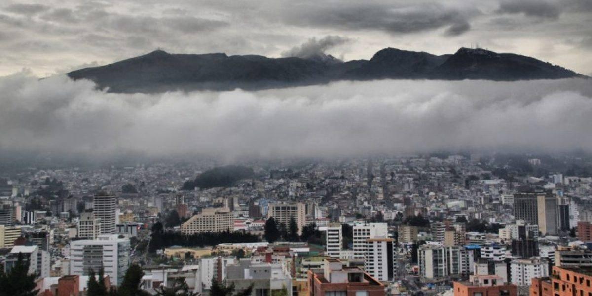 Quito: Lluvias y algunas tormentas eléctricas para la tarde