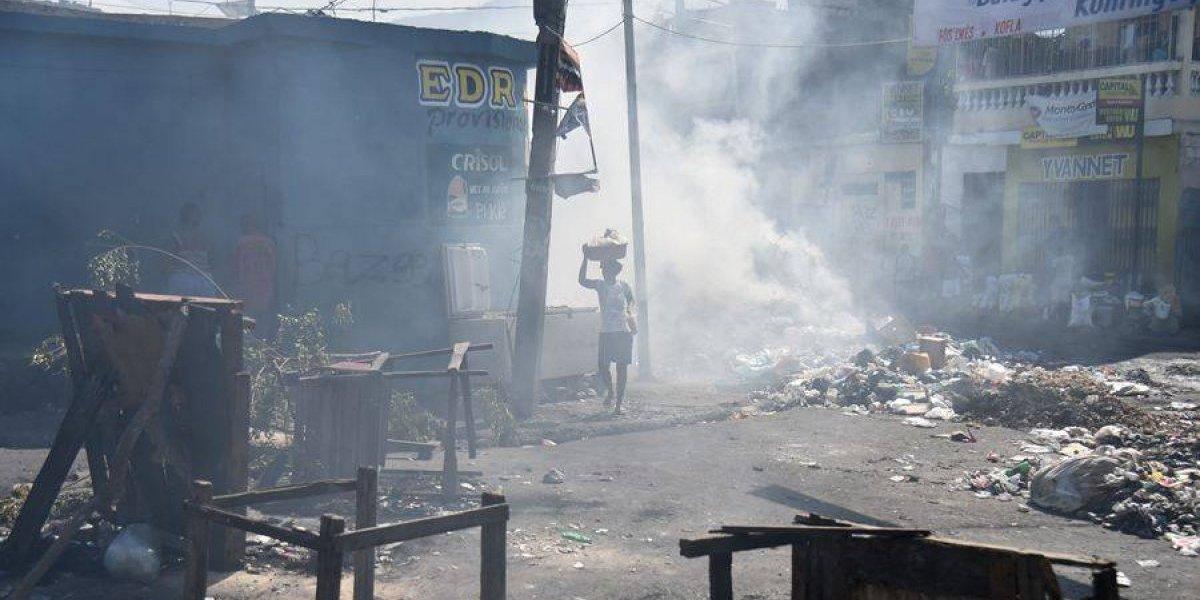 Capital haitiana trata de retomar la normalidad tras varios días paralizada