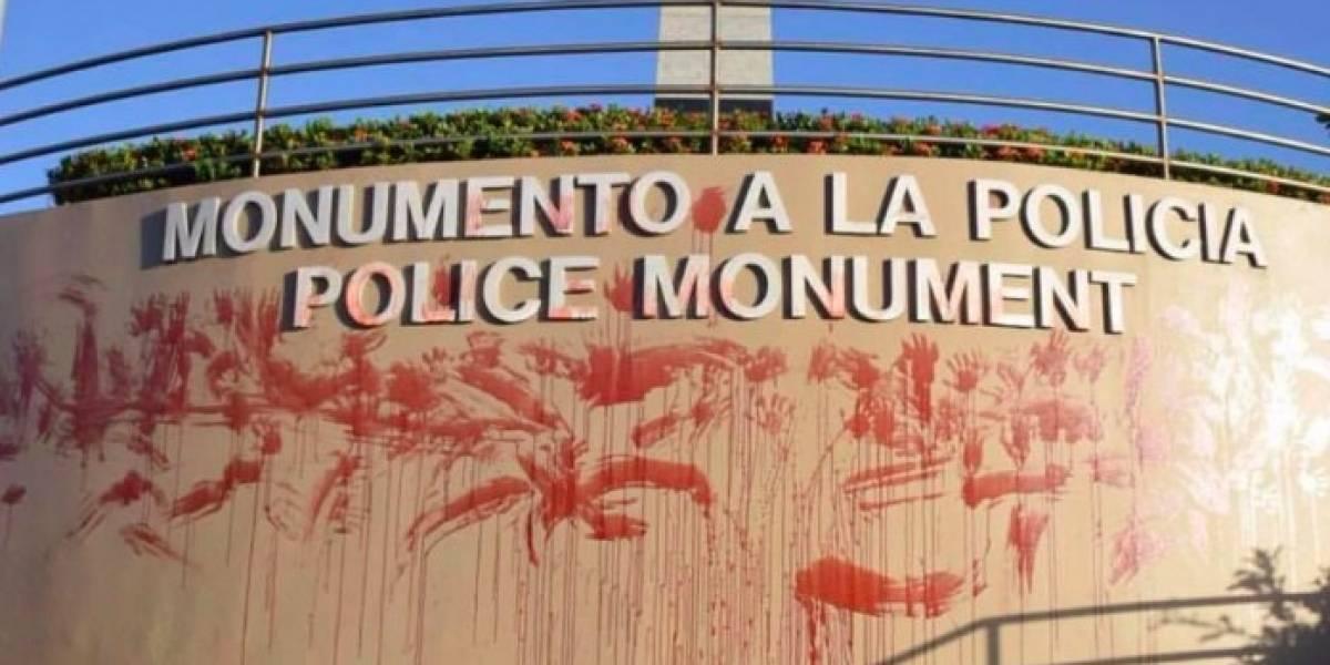''Sangre'' de mujeres aparece en monumentos de San Juan