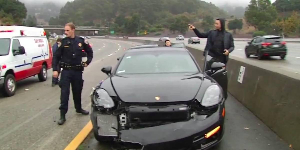 Stephen Curry involucrado en accidente de auto