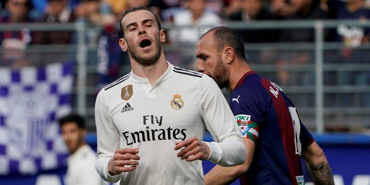 Real Madrid é humilhado pelo pequeno Eibar no Campeonato Espanhol