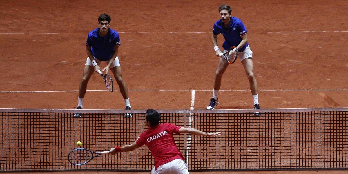 Francia gana el dobles y se mantiene con vida en la final de Copa Davis ante Croacia