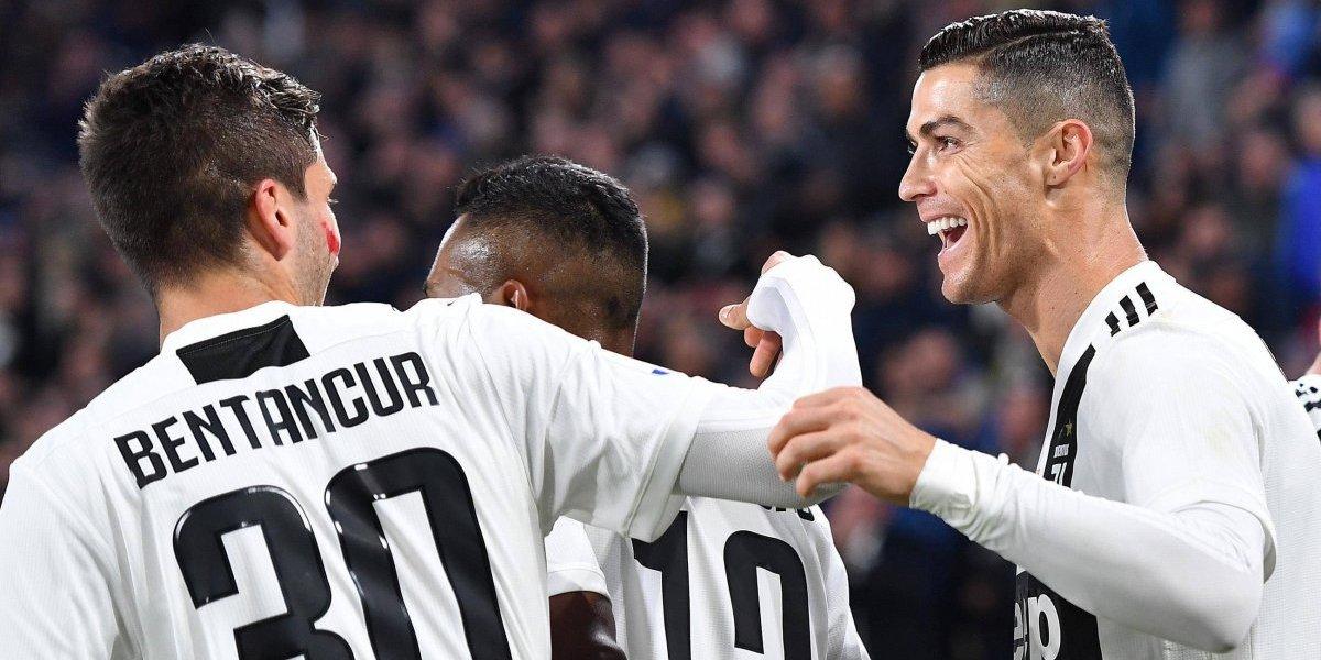 Cristiano Ronaldo sigue brillando en una Juventus imparable