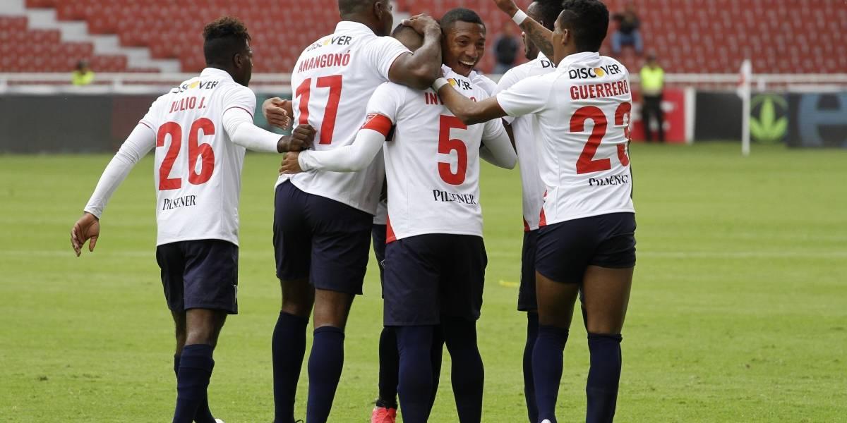 Liga de Quito vs El Nacional: Goleada de los albos hunde a El Nacional