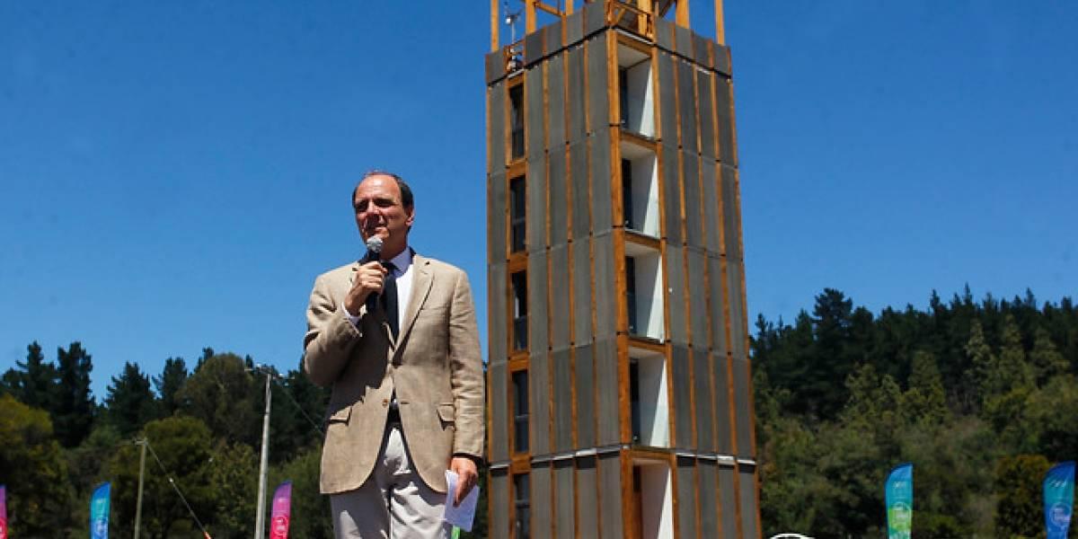 Apenas dos días por departamento tardarán en la construcción del primer edificio de madera para viviendas sociales en Rancagua