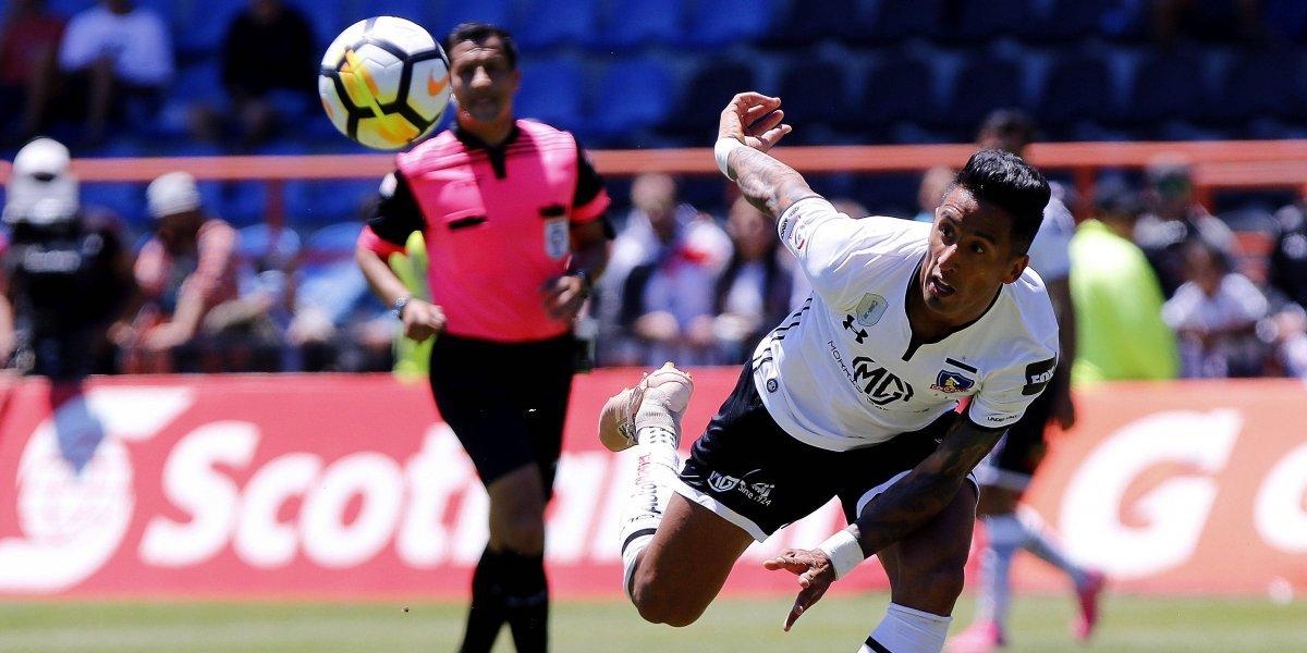 """El suspenso de Lucas Barrios en Colo Colo: """"Tengo contrato, pero se van a tomar muchas decisiones"""""""