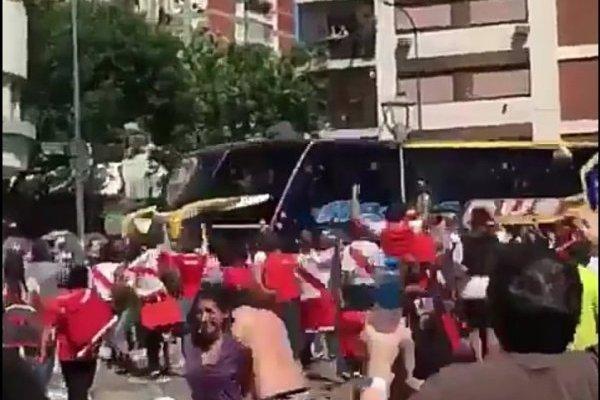 Los jugadores afectados tras la agresión de bus a Boca Juniors