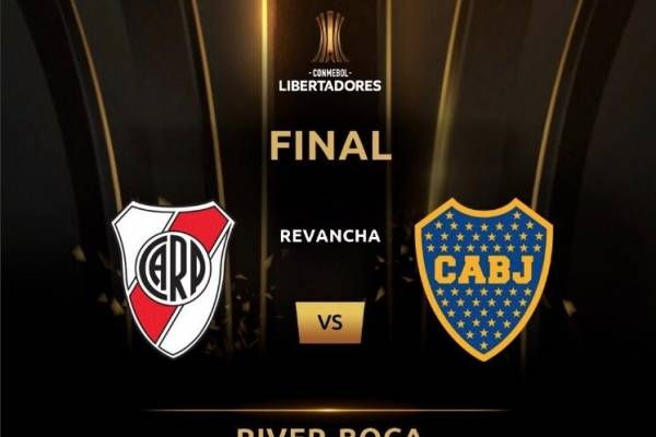 Presidente de Conmebol posterga River Plate vs Boca Juniors por incidentes