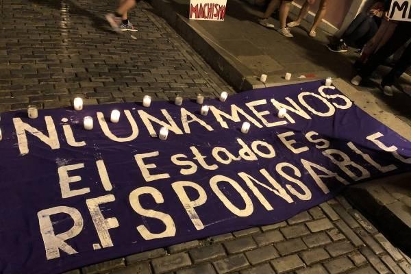 Plantón Contra la Violencia Machista - Colectiva Feminista en Construcción