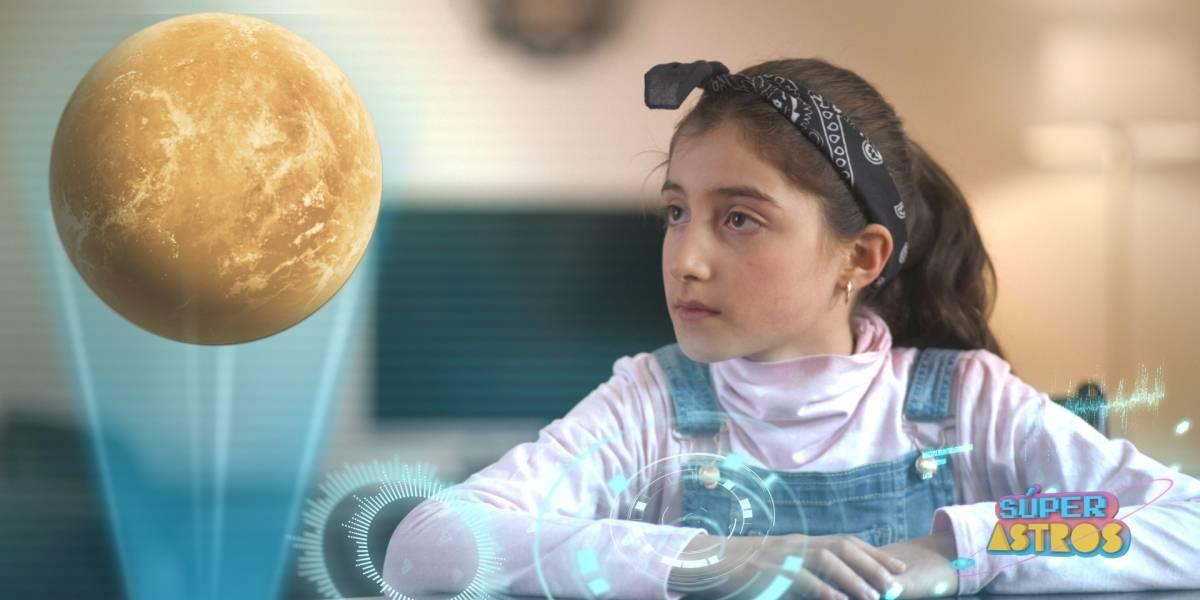 """""""Súper Astros"""": la serie para niños impulsada por el CNTV que llega a youtube"""